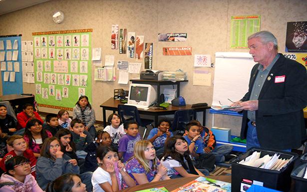 Дети в школе США