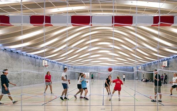 Датская школа - спортзал