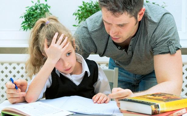 Не делайте уроки вместо ребенка