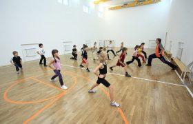 Школа Сотрудничество - спорт зал